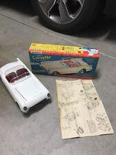 1950s Ideal's Corvette Assembly Kit Vintage Model Car Kit