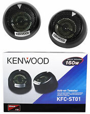 "Pair Kenwood KFC-ST01 1"" 160 Watt 4-Ohm Component Car Dome Tweeters"