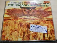 JAH WOBBLE'S INVADERS OF THE HEART THE UNGODLY KINGDOM EP - cds slim case 1992