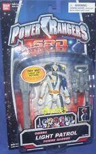 """Power Rangers SPD  5"""" Light Patrol Omega White Ranger New Factory Sealed 2004"""