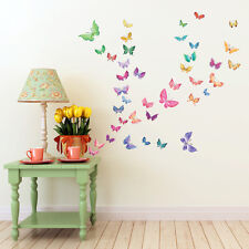 Decowall Butterflies Nursery Kids Removable Wall Stickers Decal Dw-1602