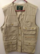 Mens size Large Orvis Fly Fishing Vest New