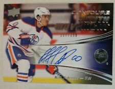 15/16 UPPER DECK CONTOURS NAIL YAKUPOV AUTO YOUTH MOVEMENT #/399 EDMONTON OILER