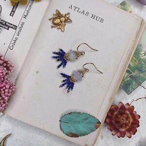 Lapis Lazuli 14K Gold Filled Handmade Sundance Garden Earrings