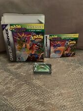 GameBoy Advance Crash & Spyro Super Pack CIB, boxed very good condition