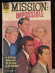 MISSION IMPOSSIBLE #4 (1968) Dell Comics Very Good copy