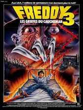 Pesadilla En Elm Street 3 Poster 04 Letrero De Metal A4 12x8 Aluminio