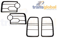 Front & Rear Light Lamp Guards for Land Rover Discovery 3 VUB501200 VUB501380