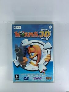 Worms 3D Game DVD ROM for MAC
