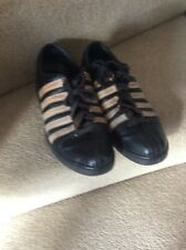 mens black casual shoes size 10.  Leather