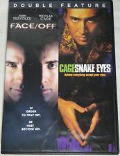 Face Off / Snake Eyes Double Feature Dvd Nicolas Cage John Travolta