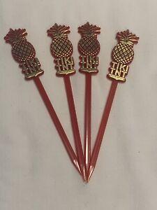 4 NEW TIKI TNT Swizzle Sticks Washington DC