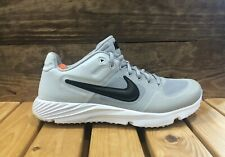 Nike Alpha Huarache Elite 2 Baseball Turf Shoes Grey - Men's Size 7.5 AJ6877-002