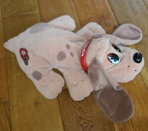 """16"""" Pound Puppies Plush by Galoob, 1997, Light Brown, Long Ears, Hound"""