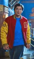 Smallville Crows Superman Clark Kent Varsity Bomber Letterman Fleece Jacket