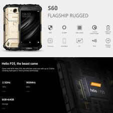 DOOGEE S60 Triple Proofing Phone 6GB 64GB 4G SmartphoneDual Camera Dual SIM Card