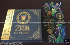 The Legend of Zelda 30th Anniversary Concert Limited 2CD+DVD+Ticket holder Japan