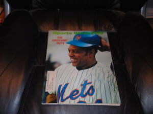 1972 SPORTS ILLUSTRATED WILLIE MAYS NEW YORK METS NR MINT