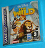 The Wild - Game Boy Advance GBA Nintendo - PAL New Nuovo Sealed