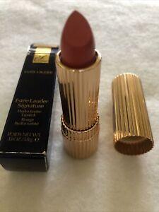 """Este Lauder Signature Hydra Lustre Lipstick New"""" Full Size"""" Spiced Coral"""