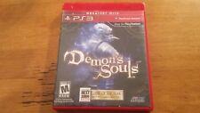 Demon's Souls (Sony PlayStation 3, 2009) No Manual / Greatest Hits