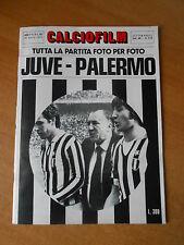 CALCIOFILM il film della partita -JUVENTUS-PALERMO-4-1 - aprile 1973