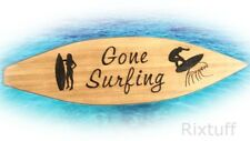 XXL Big Large 3ft Unique Gone Surfing Burnt Wood Surfboard Handmade in Cornwall