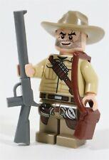 LEGO T REX HUNTER ROLAND MINIFIGURE JURASSIC LOST WORLD - MADE OF GENUINE LEGO