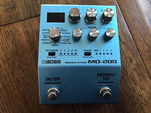 Boss MD200 Modulation Pedal For Guitar Or bass Chorus,flanger,tremolo,phaser Etc