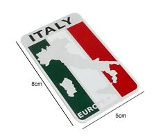 ITALIAN ITALY Decal Badge self Adhesive Alfa Romeo 1750 Alfa 33 75 Brera