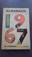 Almanaque 1967 de HUMANIDAD Trabajador Campesino en 8 Be
