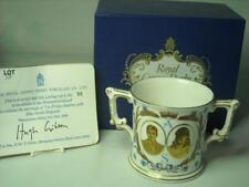 Royal Crown Derby MARRIAGE PRINCE ANDREW Loving Cup 8 Photos Ltd Ed 1000 +Box