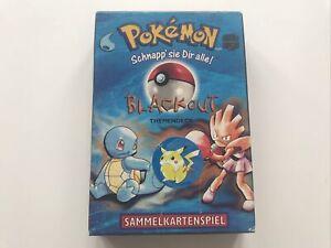 Pokemon TCG Themendeck Blackout LEER EMPTY!  Basis Set Deutsch