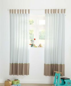 SALE!! BNWT MAMAS AND PAPAS PIXIE AND FINCH BOYS CURTAINS SIZE 132 x 160 UNISEX