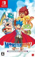 NEW Nintendo Switch Monster Boy and the Cursed Kingdom JAPAN OFFICIAL IMPORT