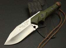 TOP QUALITY 154CM 6mm 58HRC G10! SHARP SURVIVAL RESCUE CAMP COMBAT HUNTING KNIFE