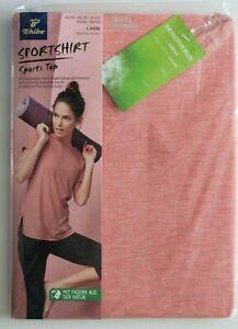 M 40//42 Neu Tchibo Damen Sportshirt Sport Fitness Shirt Gr