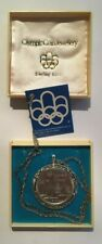 More details for montreal olympiad 1976 sterling silver 5 dollars coin jewellery on a chain