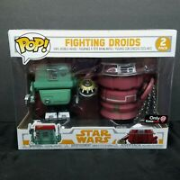 Funko POP! Star Wars Solo Fighting Droids 2-Pack Vinyl Figure GameStop Exclusive