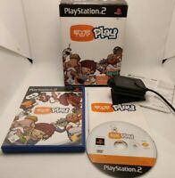 Eye Toy Play Start Box Original sony PLAYSTATION 2, PS2 Boxed Pal Cib Camera +