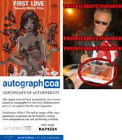 TAKASHI MIIKE signed Autographed FIRST LOVE 8X10 Photo EXACT PROOF Director ACOA