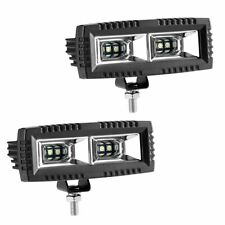 2pcs 40W Flood Cree Led Light Bar offroad for Jeep Bumper ATV UTV SUV Truck Boat
