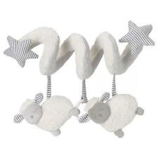 East Coast Counting Sheep Grey / White Baby Activity Spiral for Pram / Car Seat