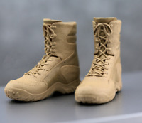 "1/6 Scale Soldier Shoes Hiking Combat Boots Desert Boots Fit 12"" Action Figure"