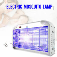 Electronic Indoor Insect Mosquito Fly Bugs UV Lamp 40 Watt Killer Zapper Control