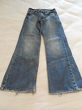 Womens AMERICAN EAGLE Blue Jeans -  Med Wash Boot Cut Size 26/28