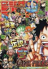 USED Weekly Shonen Jump 2021 No.3-4 Combined Issue One Piece Magazine Japan Book