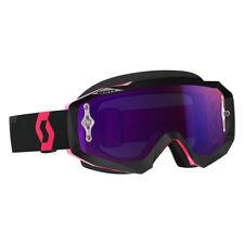 Scott Hustle MX Goggle Cross/MTB Brille schwarz/pink/lila chrom works