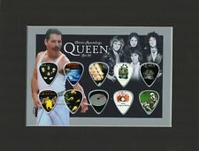 Queen Matted Picture Guitar Pick Set Classic Recordings Bohemian Rhapsody
