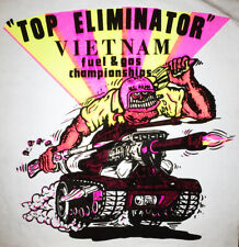 Vintage Vietnam Top Eliminator Fuel & Gas Championships Iron On Transfer Nos
